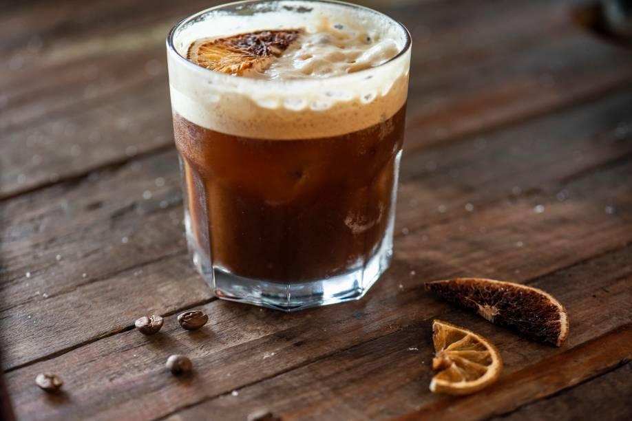 O refrescante freddo, do Café Container: campeão como melhor café