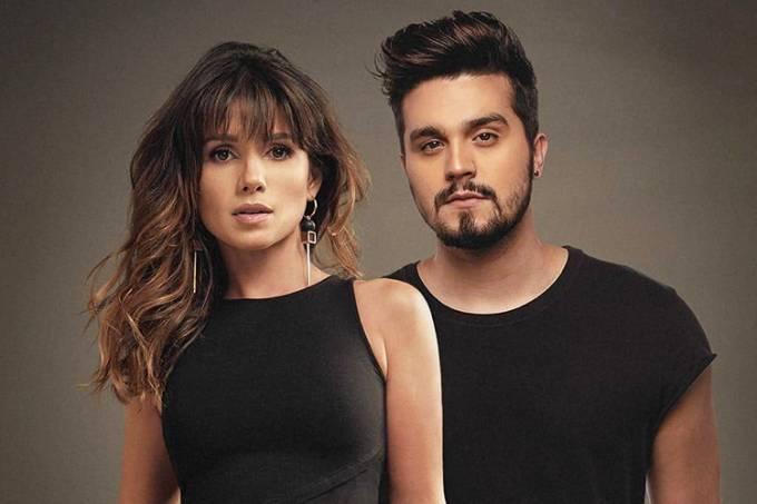 Paula Fernandes e Luan Santana