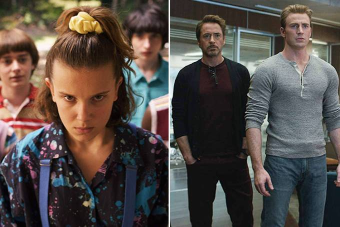 'Stranger Things' e 'Vingadores: Ultimato'