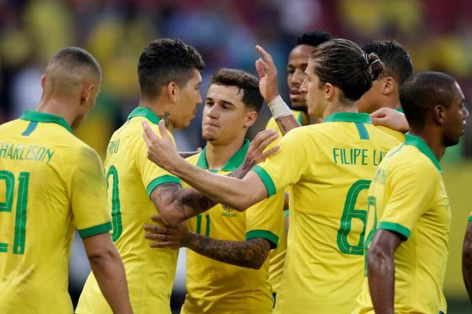 Amistoso Brasil e Honduras