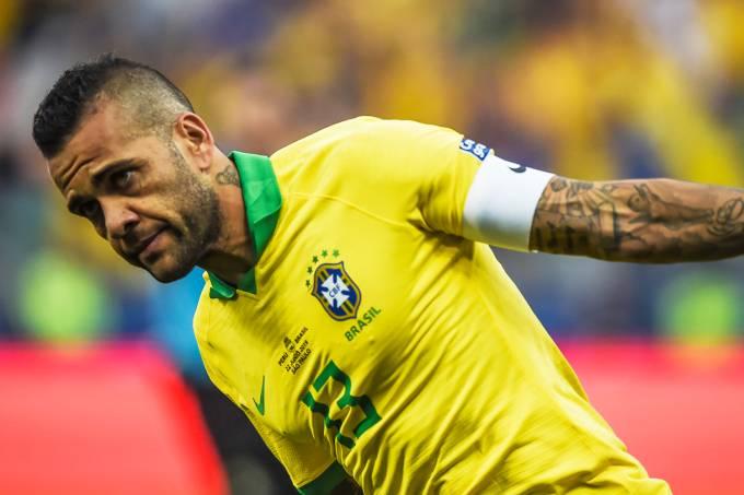 Copa América – Peru x Brasil – Daniel Alves