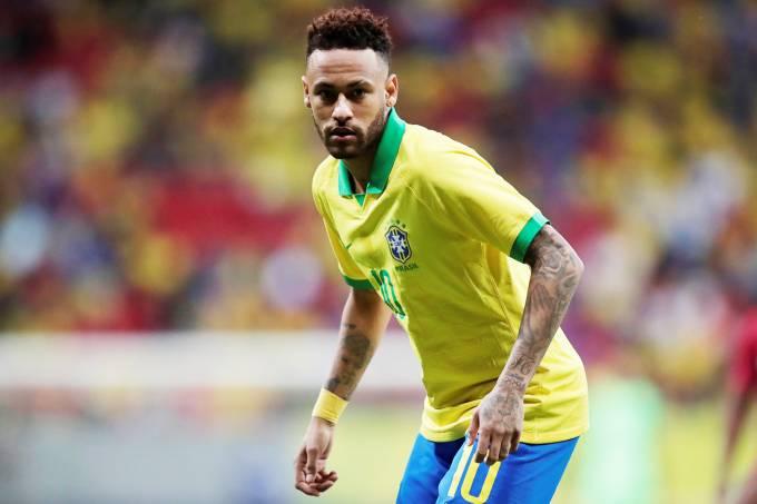 Brasil x Catar – Neymar