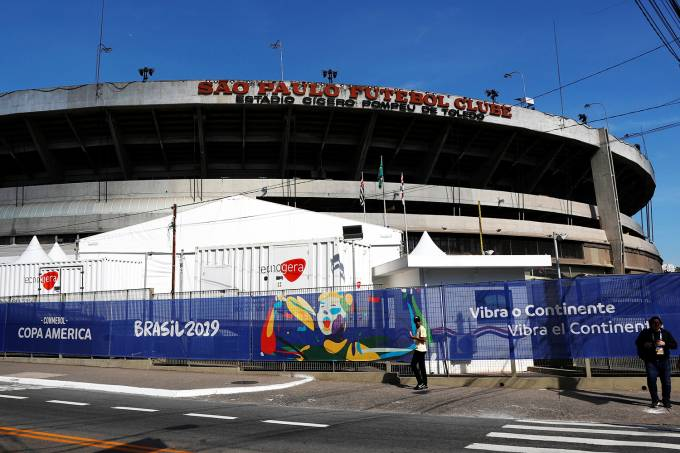 Copa América no Brasil – Estádio do Morumbi