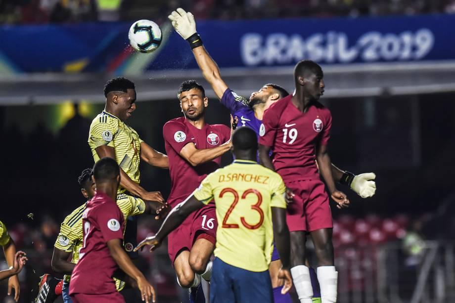 Partida entre Colômbia e Catar, válida pela fase de grupos da Copa América - 19/06/2019