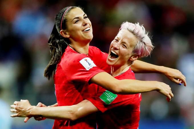 Copa do Mundo Feminina – Estados Unidos x Tailândia