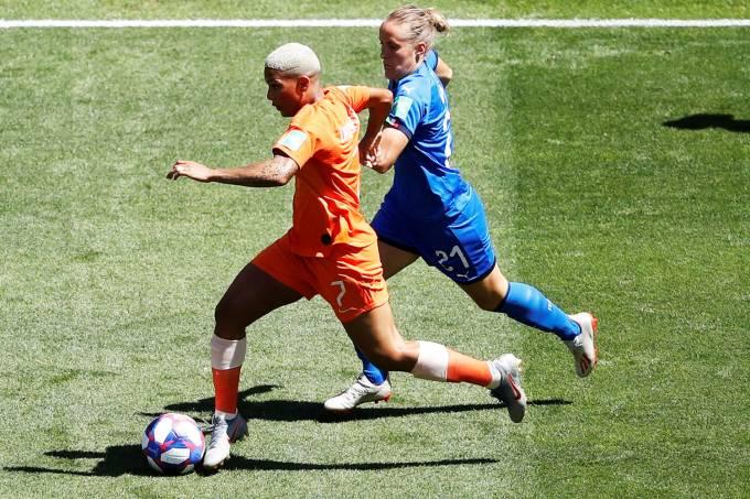 Copa Do Mundo Feminina Holanda Elimina A Italia