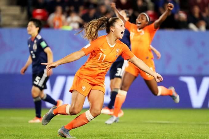 Copa do Mundo Feminina – Holanda x Japão – Lieke Martens