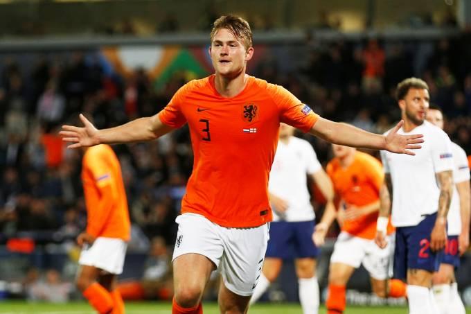 Liga das Nações – Holanda x Inglaterra