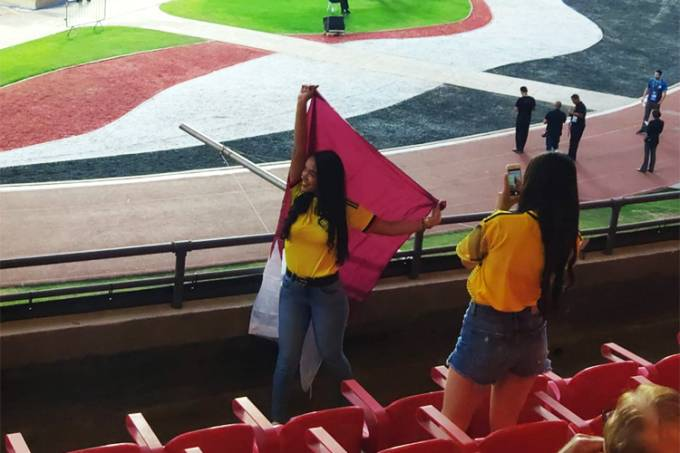 Copa América – Colômbia x Catar