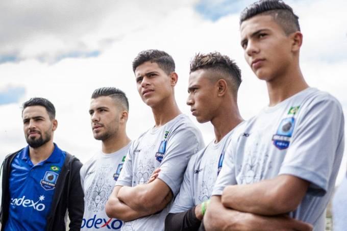 Jogadores sírios treinam no Brasil