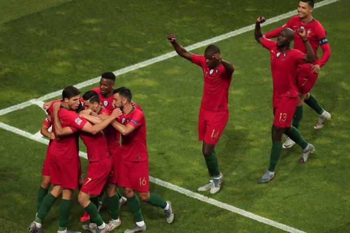 Liga das Nações – Portugal x Holanda