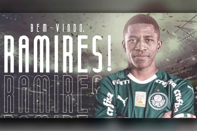 Palmeiras anuncia a contratação de Ramires