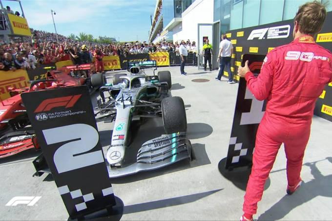 Vettel fica descontente com punição no GP do Canadá