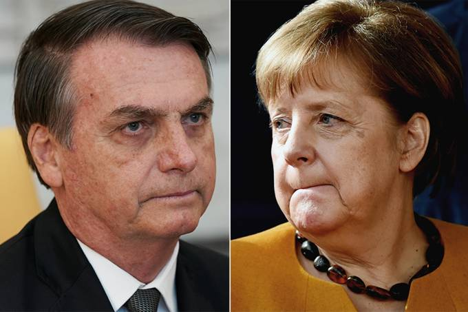 Jair Bolsonaro – Angela Merkel