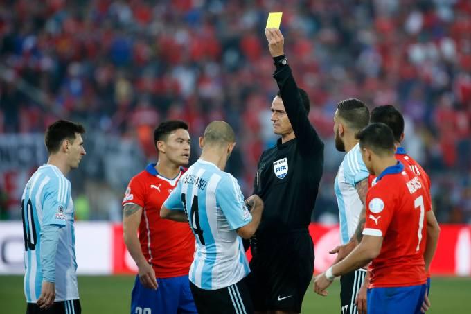 Chile x Argentina – 2015 Copa America Chile Final