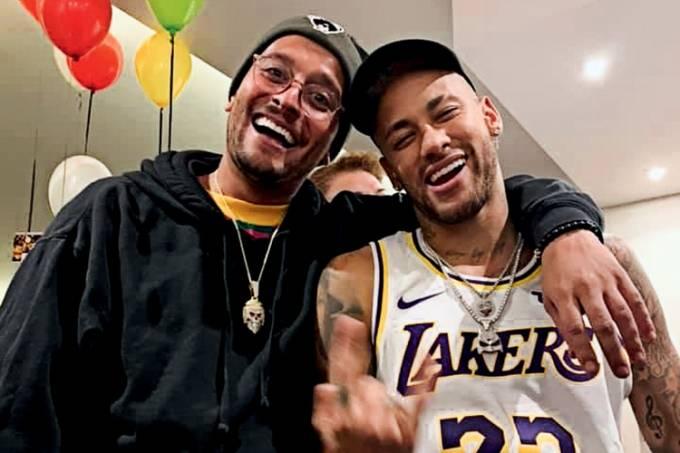 Lamego e Neymar