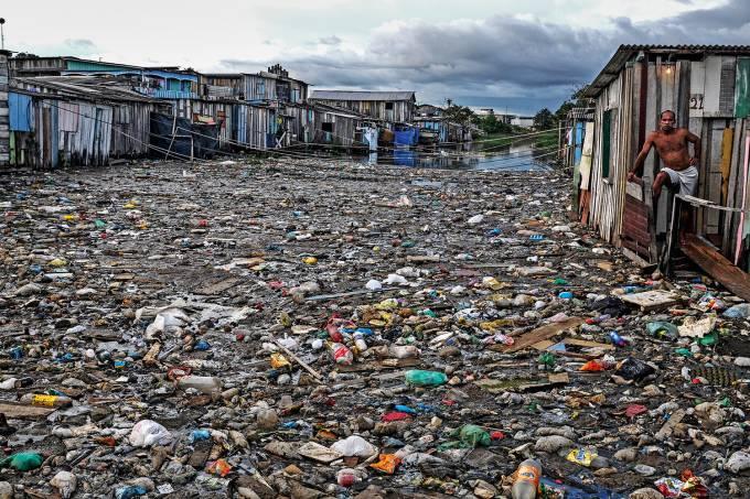 LIXO – POLUIÇÃO ÁGUA