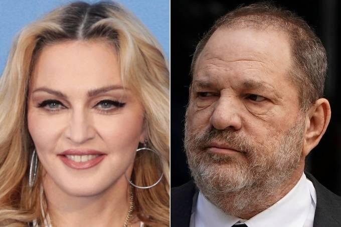 Madonna e Harvey Weinstein