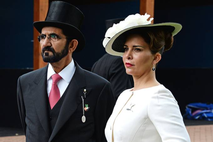 Mohammed bin Rashid Al Maktoum e princesa Haya