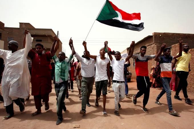 Protestos no Sudão