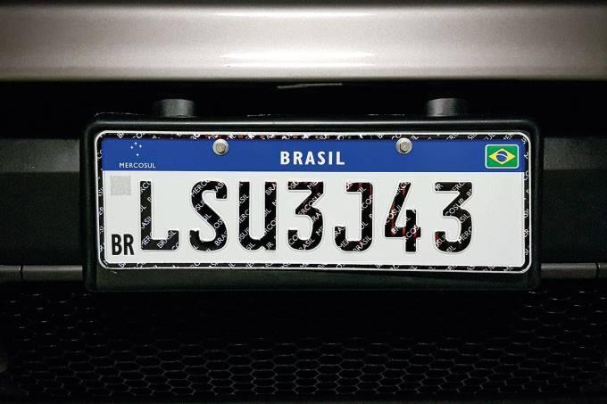 Placa de automóvel – Mercosul