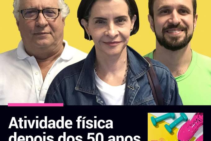 Podcast Enquanto Você Treina com Paulo Maia, Marina Lima e Renan Murta