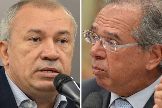 Paulo Guedes do PT e o ministro da Economia, Paulo Guedes