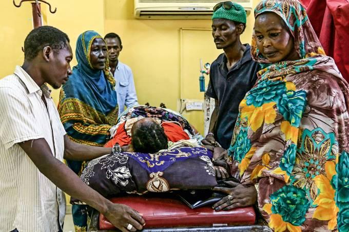 Epidemia no Sudão