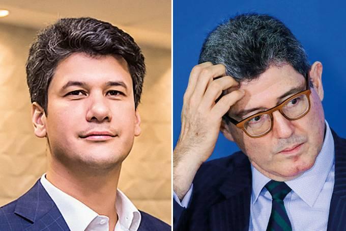 Gustavo Montezano e Joaquim Levy