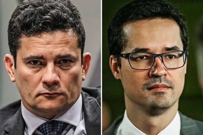 Sergio Moro e Deltan Dallagnol