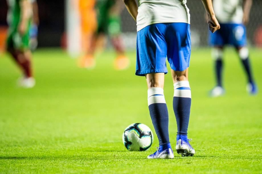 Partida entre Brasil e Bolívia, válida pela fase de grupos da Copa América, realizada no Estádio do Morumbi, em São Paulo (SP) - 14/06/2019