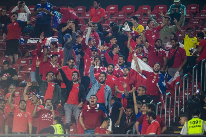 Copa América – Japão x Chile