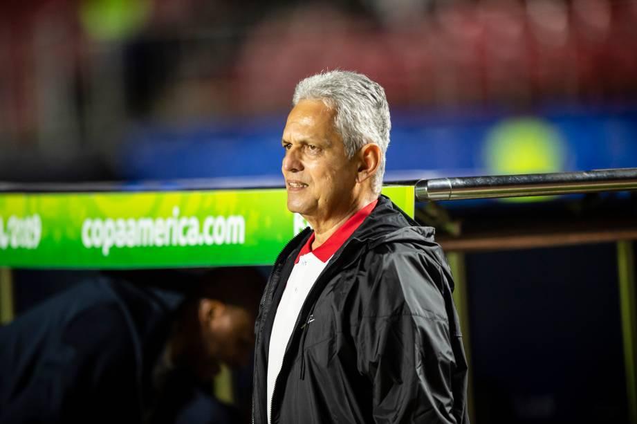 O técnico colombiano Reinaldo Rueda comanda a seleção chilena na Copa América 2019