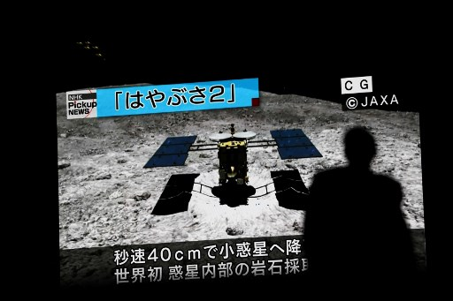 Sonda japonesa Hayabusa2 pousa em asteroide