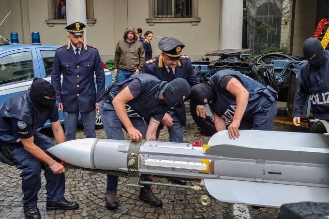 ITALY-TERRORISM-POLICE