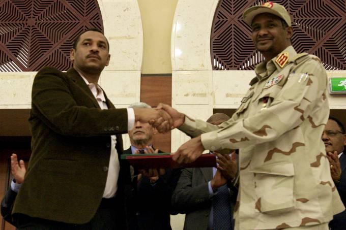 Acordo político no Sudão