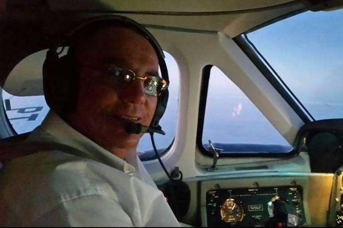 O piloto Benedito Fernando Ricci