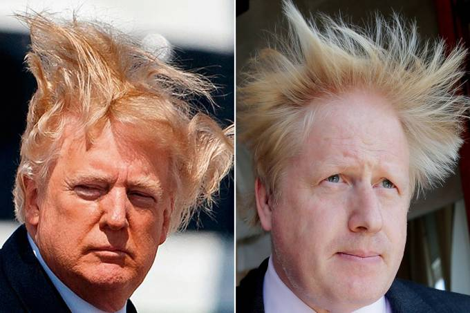 Donald Trump e Boris Johnson