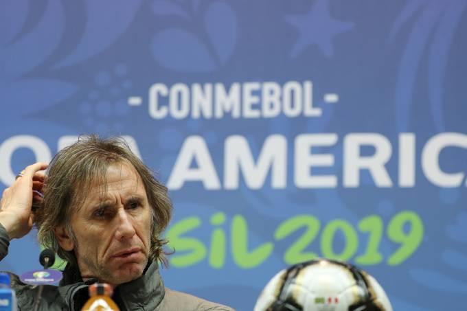 Copa America – Peru Press Conference