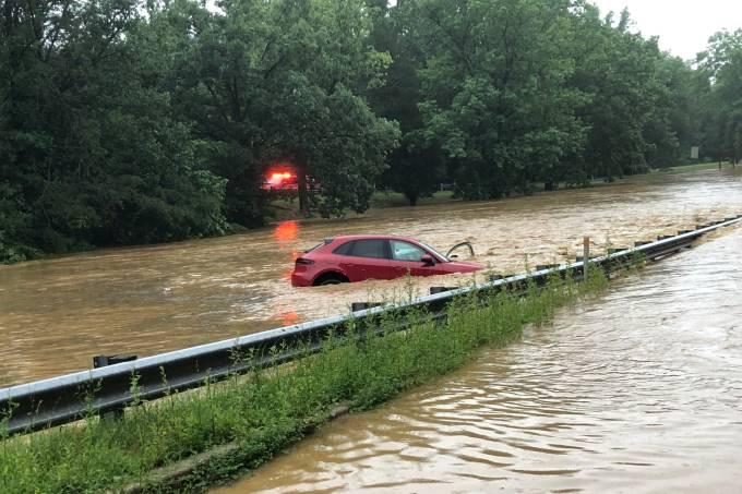 Inundação em Washington