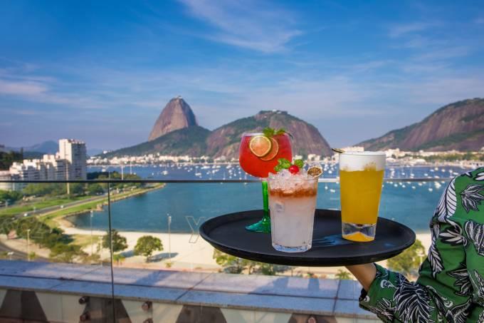 The Rooftop comer e beber Rio 2019