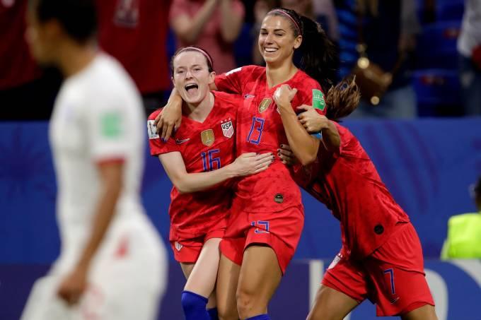 Alex Morgan – EUA x Inglaterra – Copa Feminina