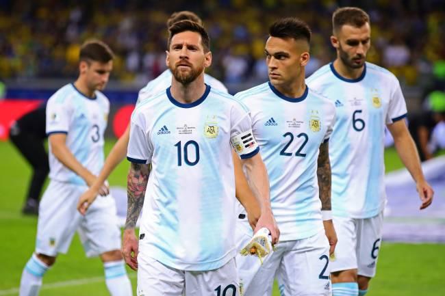 Lionel Messi, capitão da seleção Argentina, no Mineirão