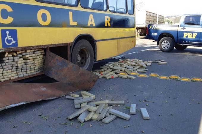 Õnibus escolar drogas