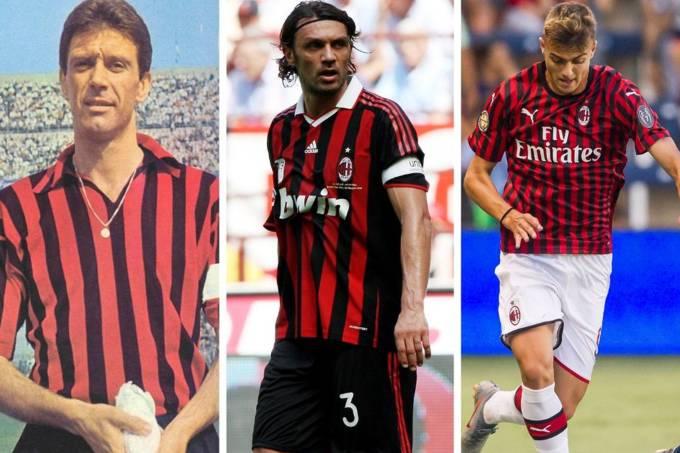 Cesare, Paolo e Daniel Maldini Milan