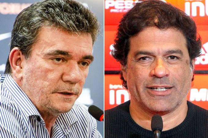 Andrés Sanchéz e Raí