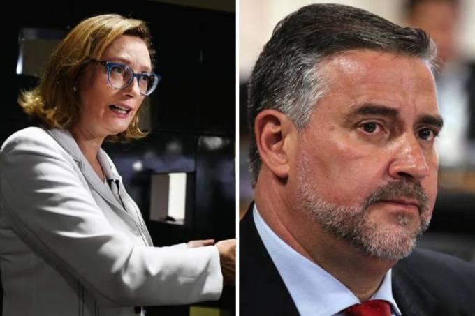 Deputado Paulo Pimenta e deputada Maria do Rosário (1 Minuto com Augusto Nunes)