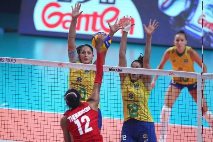 EUA vence Brasil na final da Liga das Nações