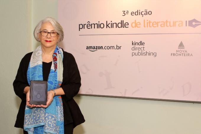 Eliana Cardoso, vencedora da 3ª edição do Prêmio Kindle de Literatura