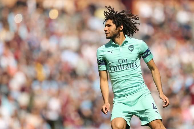 Mohamed Elneny, do Arsenal